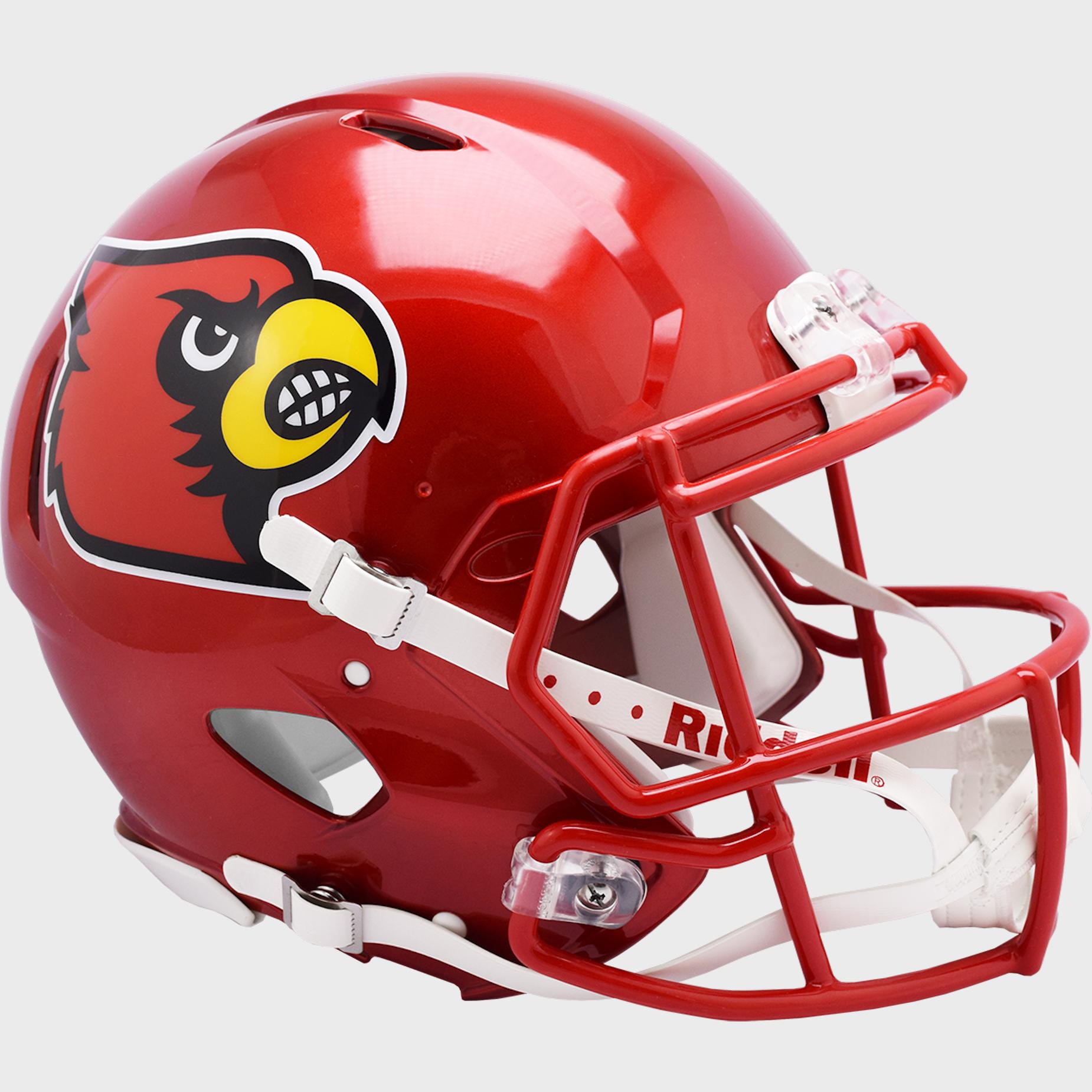 Louisville Cardinals Speed Football Helmet <B>FLASH ESD 8/21/21</B>