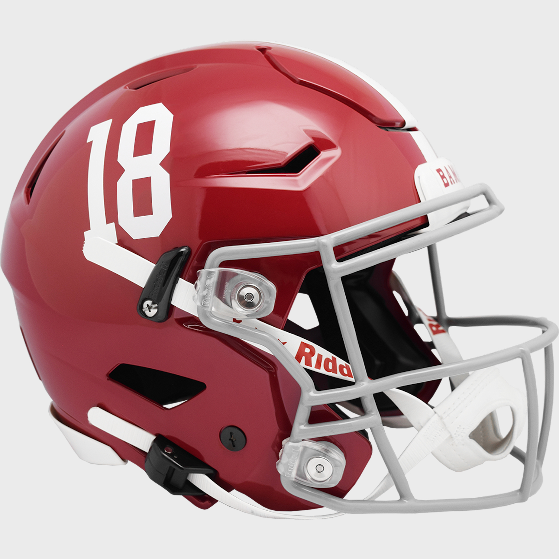 Alabama Crimson Tide SpeedFlex Football Helmet #18 <B>NEW 2021</B>