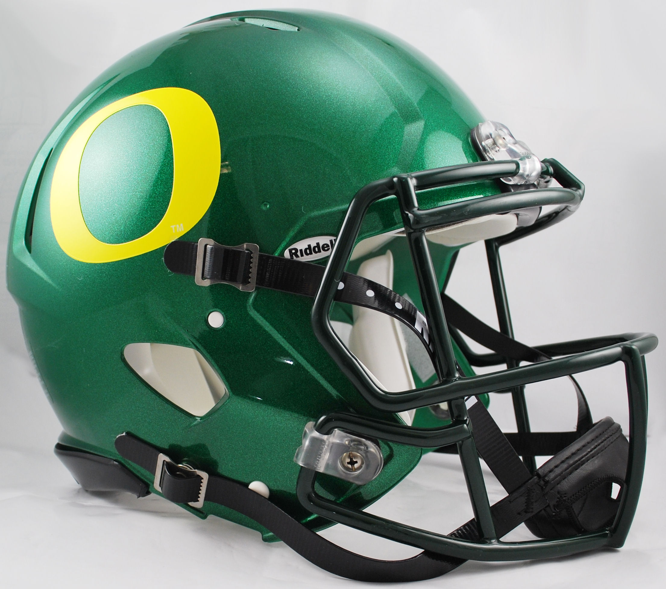 Oregon Ducks Speed Football Helmet