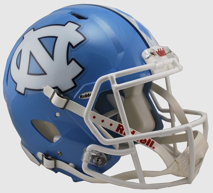 North Carolina Tar Heels Speed Football Helmet <B>NEW 2015</B>