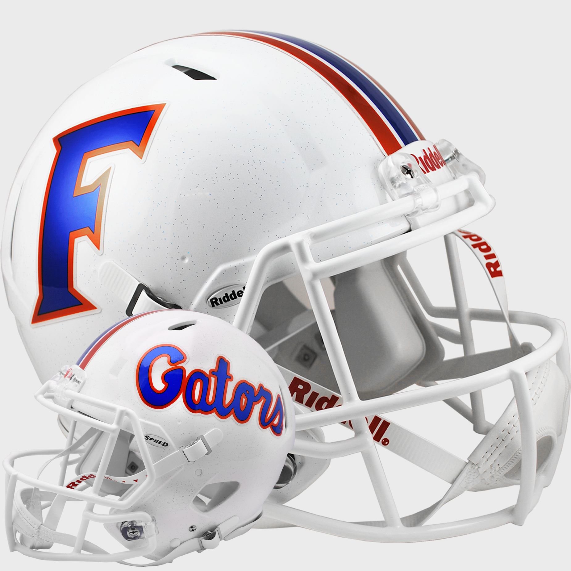 Florida Gators Speed Football Helmet <B>2015 White</B>