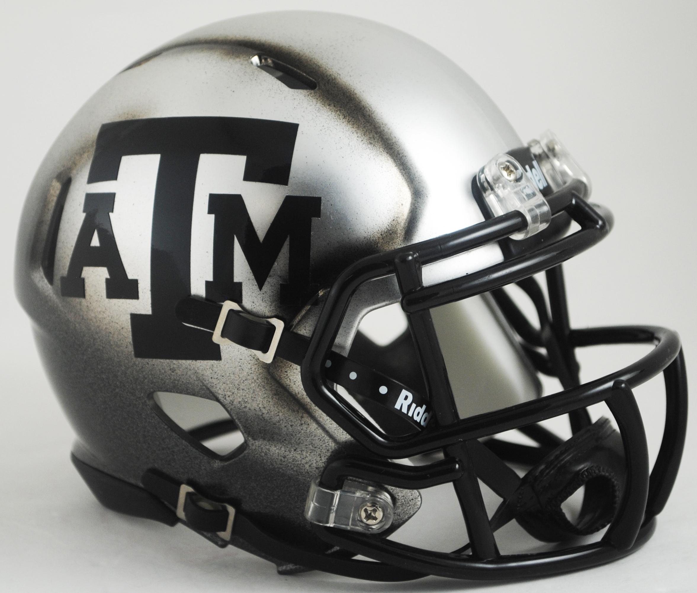 Texas A&M Aggies Speed Football Helmet <B>Ice Hydro HAND PAINTED SALE!</B>