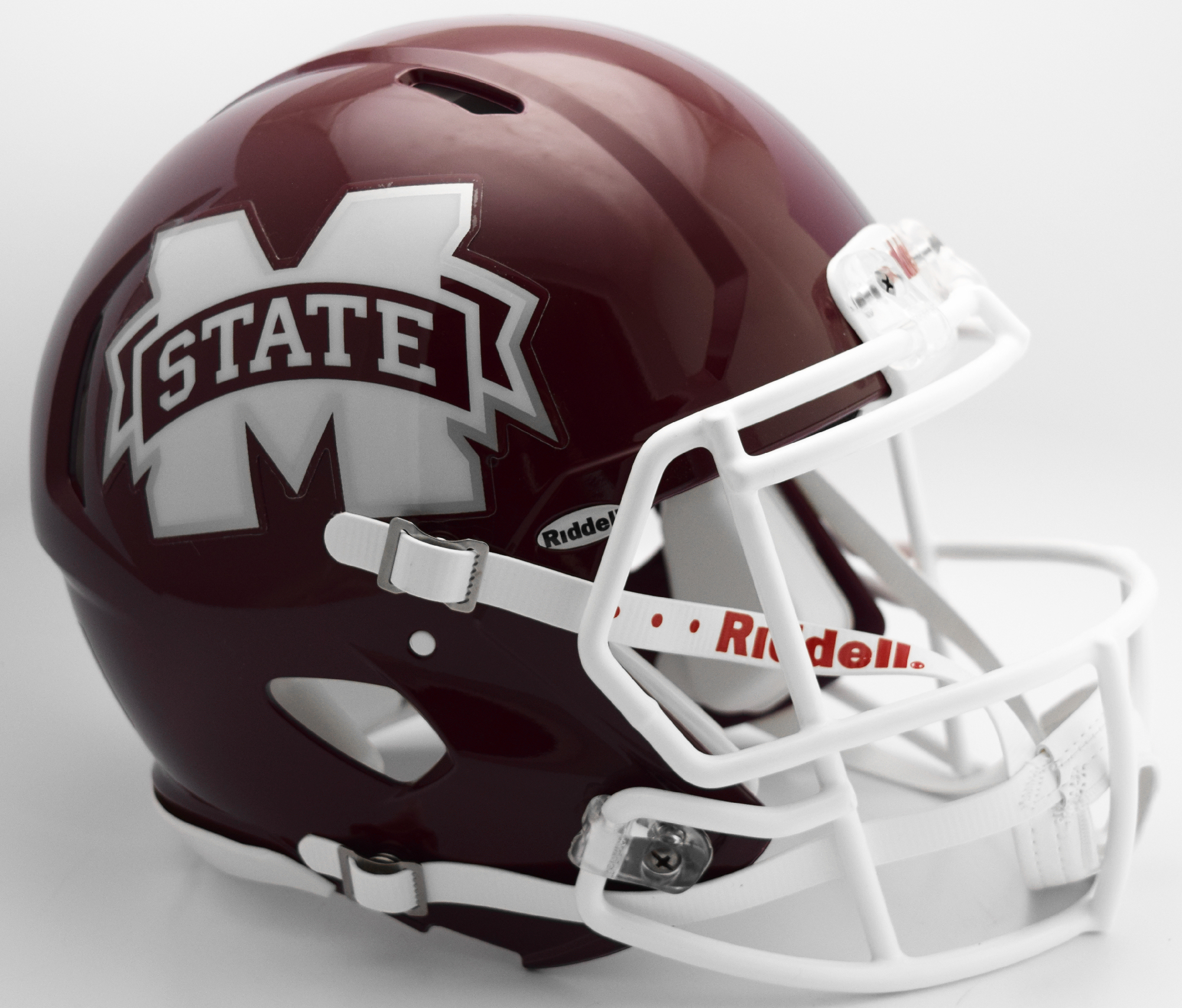 Mississippi State Bulldogs Speed Football Helmet <B>2016 M State</B>