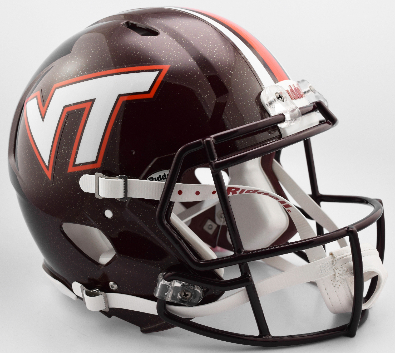 Virginia Tech Hokies Speed Football Helmet