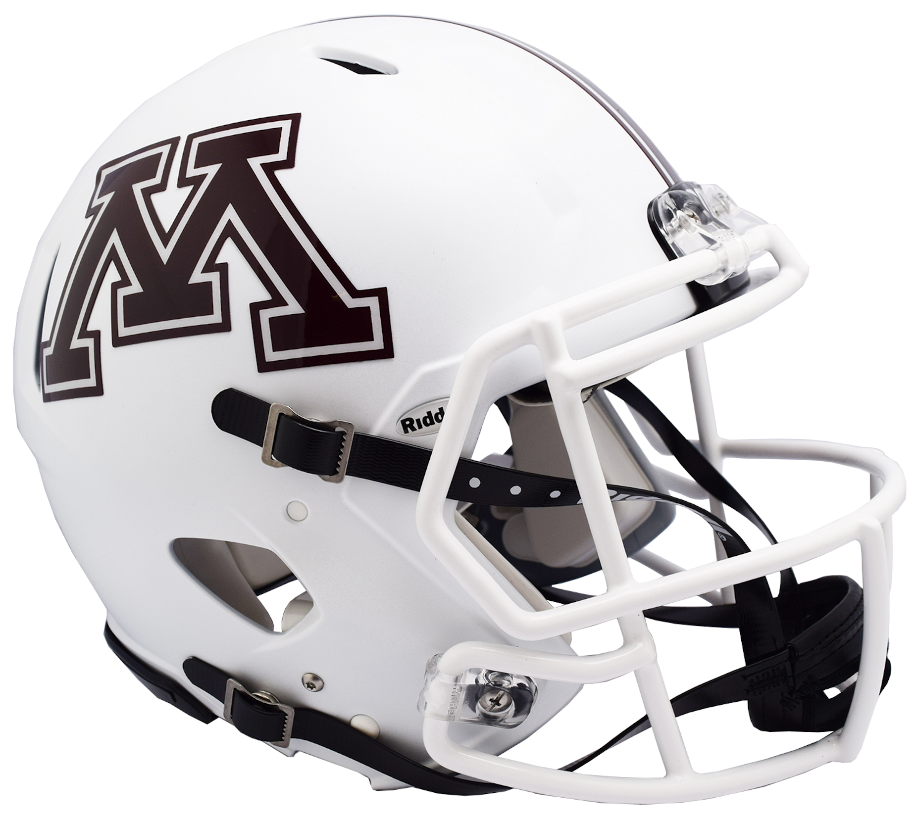 Minnesota Golden Gophers Speed Football Helmet <B>NEW 2018 White</B>