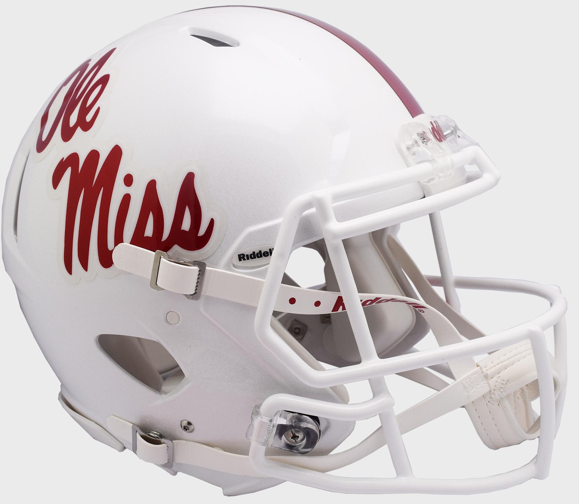 Mississippi (Ole Miss) Rebels Speed Football Helmet <B>NEW 2018</B>