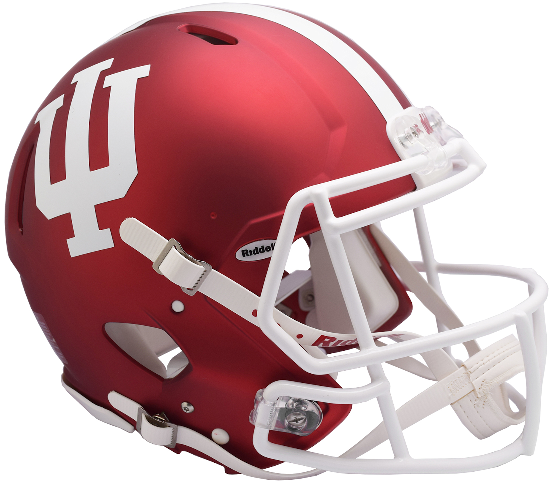 Indiana Hoosiers Speed Football Helmet <B>Anodized Crimson</B>