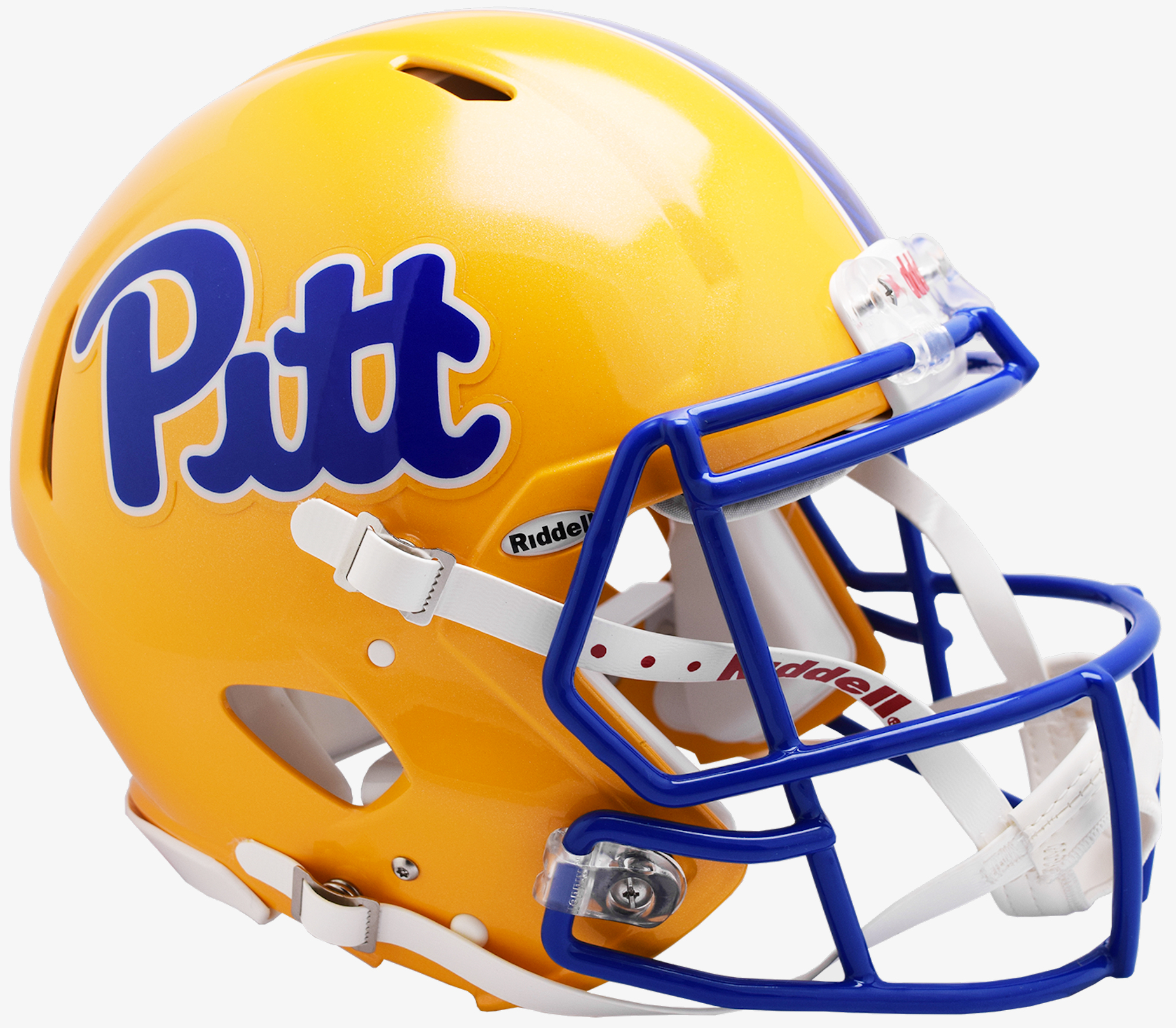 Pittsburgh Panthers Speed Football Helmet <B>2019 Gold</B>