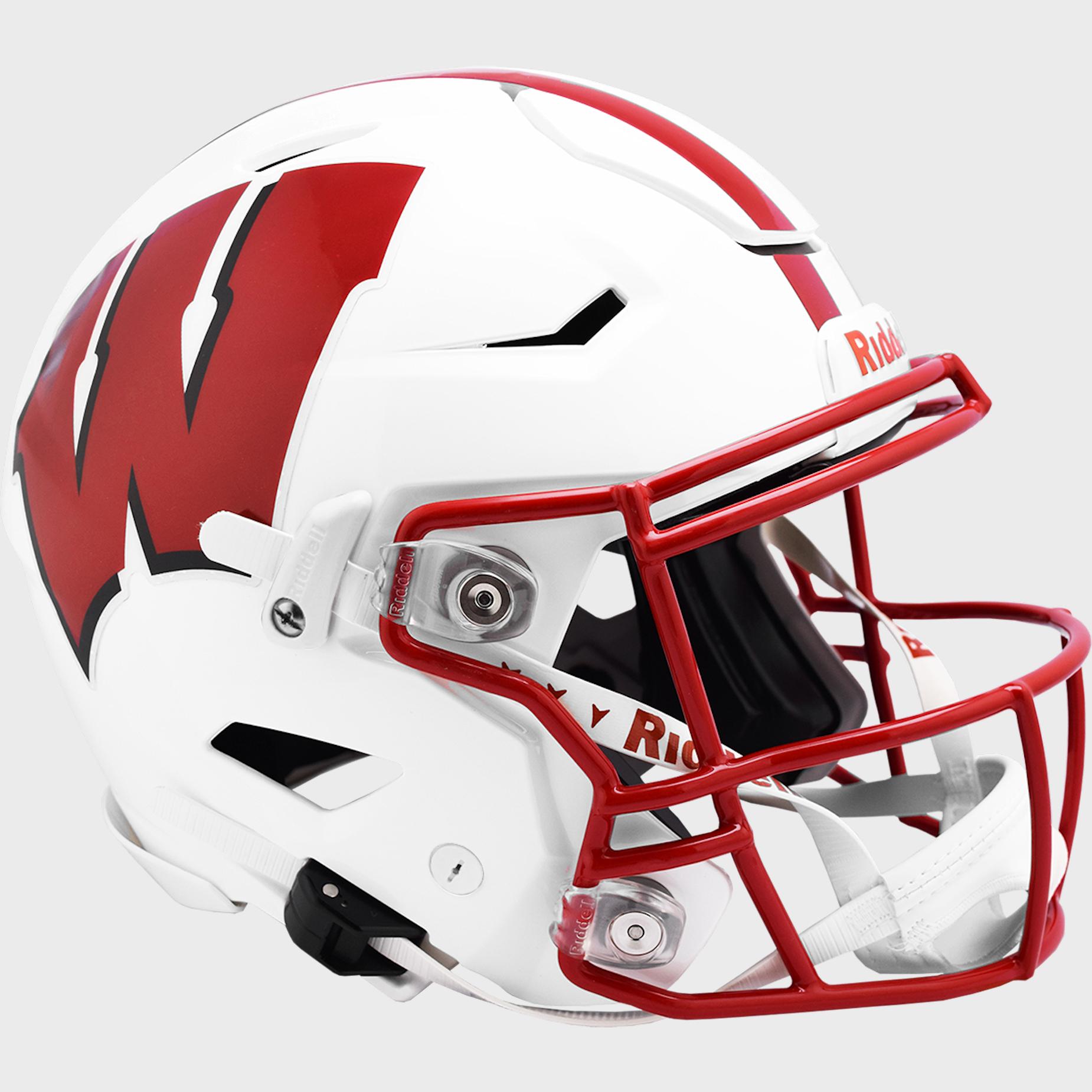 Wisconsin Badgers SpeedFlex Football Helmet