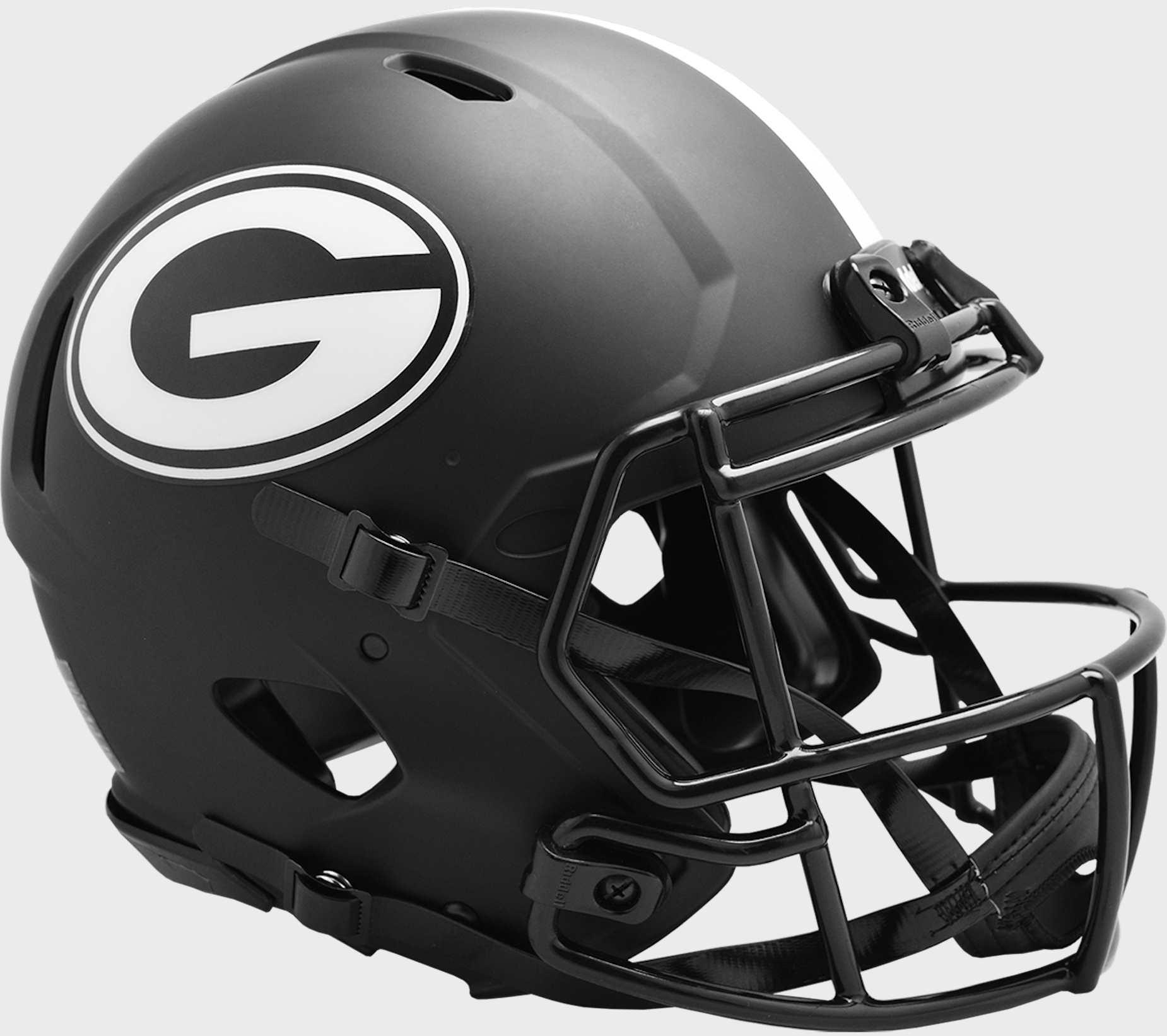 Georgia Bulldogs Speed Football Helmet <B>ECLIPSE</B>