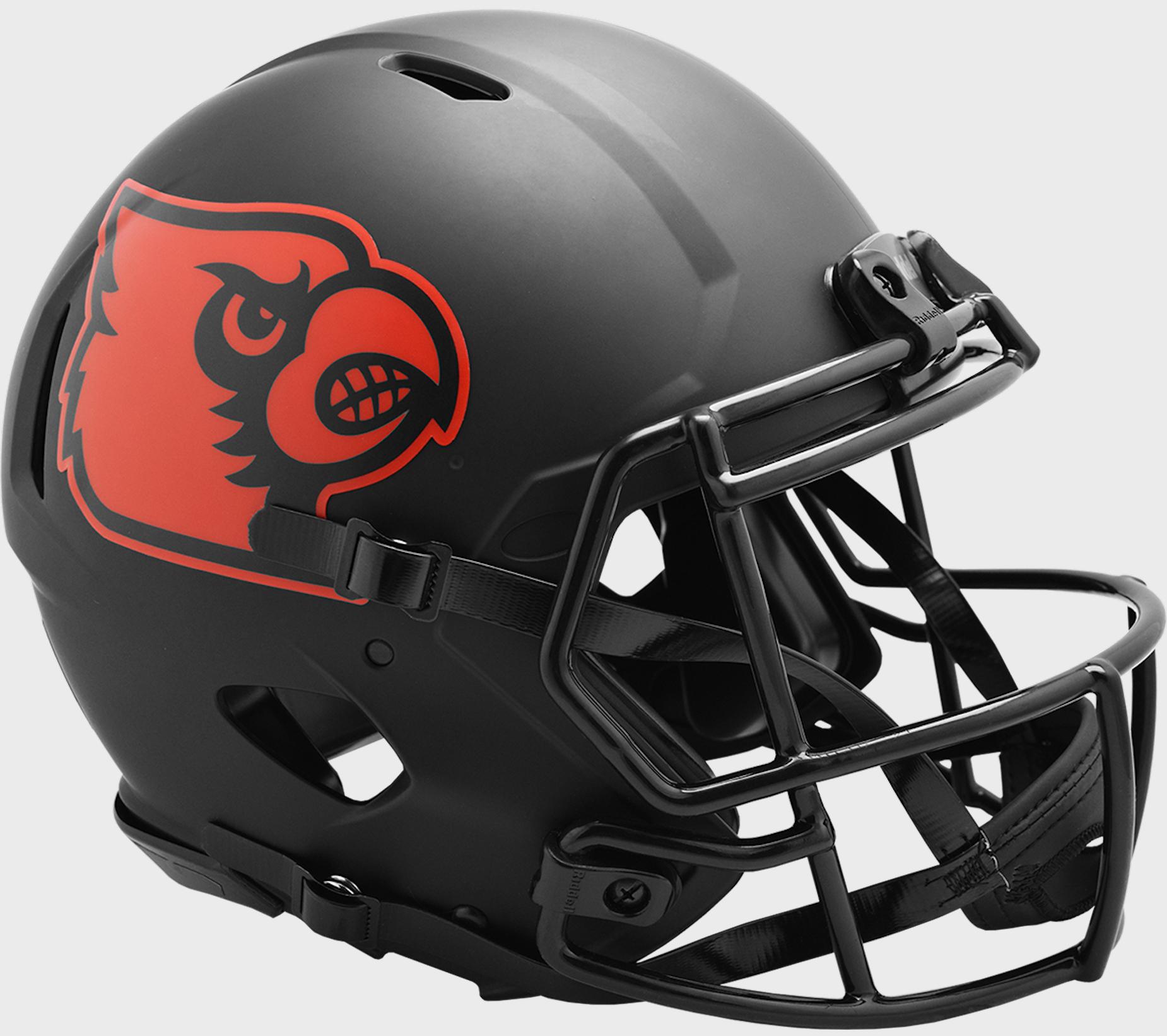 Louisville Cardinals Speed Football Helmet <B>ECLIPSE</B>