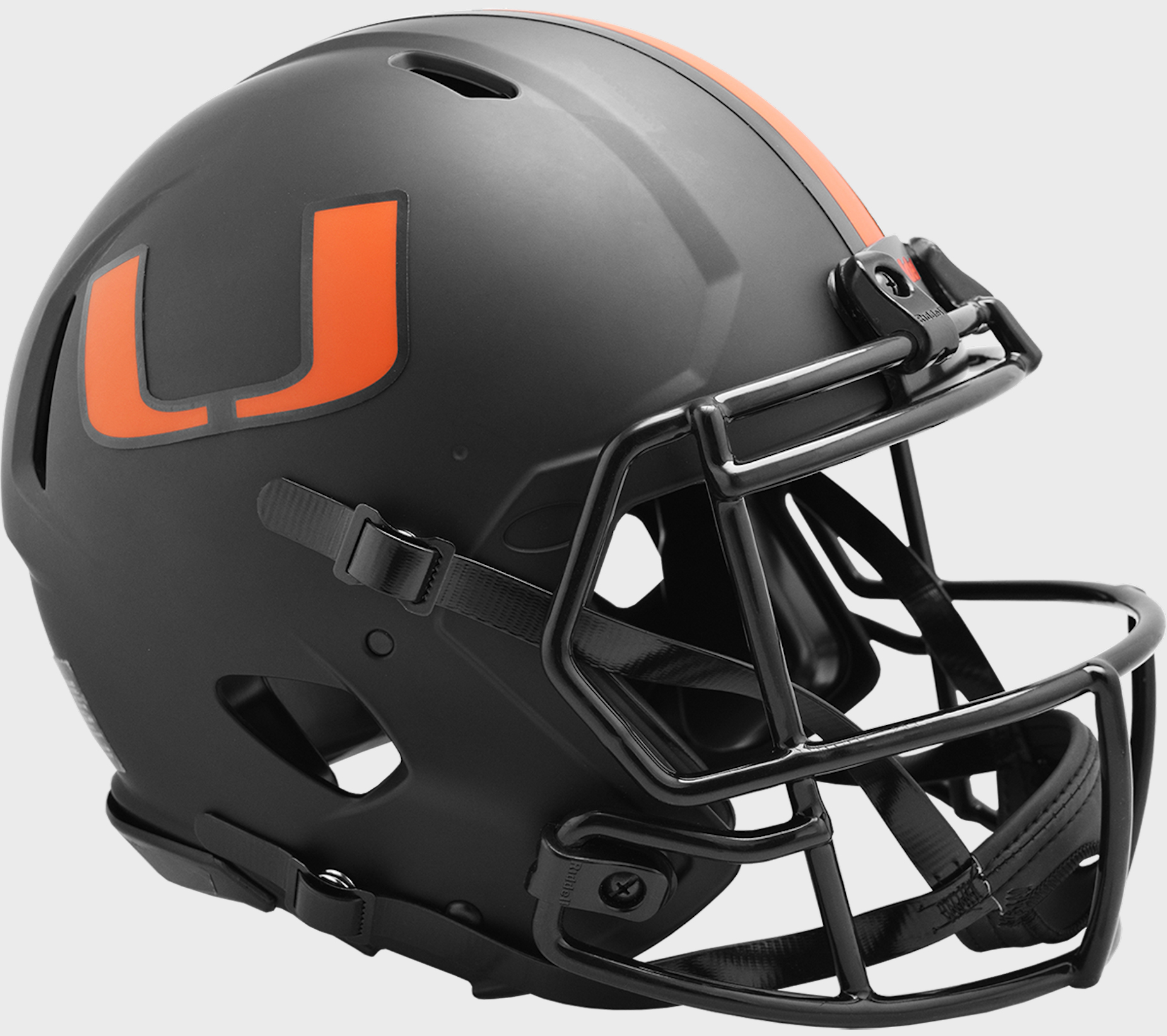 Miami Hurricanes Speed Football Helmet <B>ECLIPSE</B>