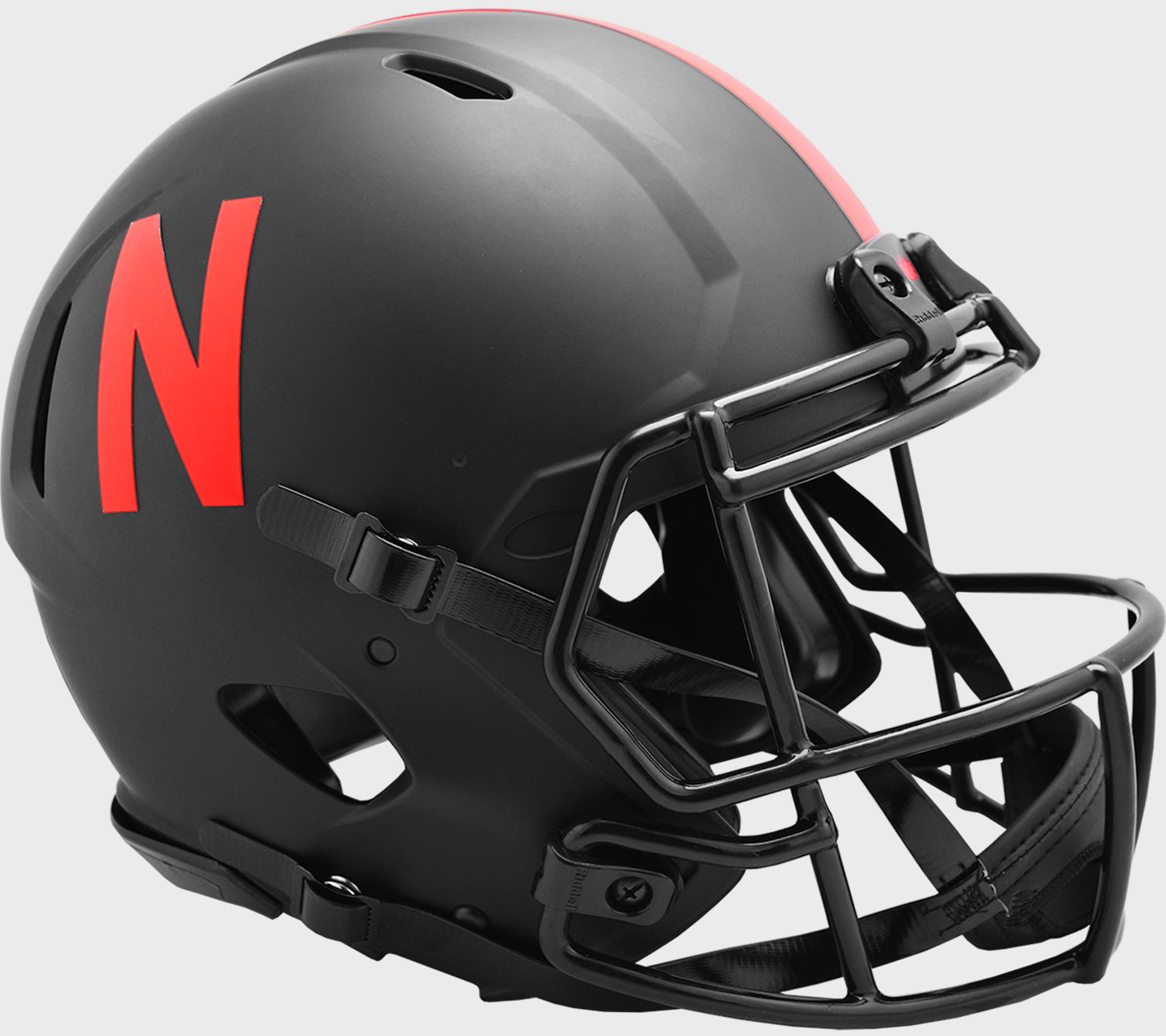 Nebraska Cornhuskers Speed Football Helmet <B>ECLIPSE</B>