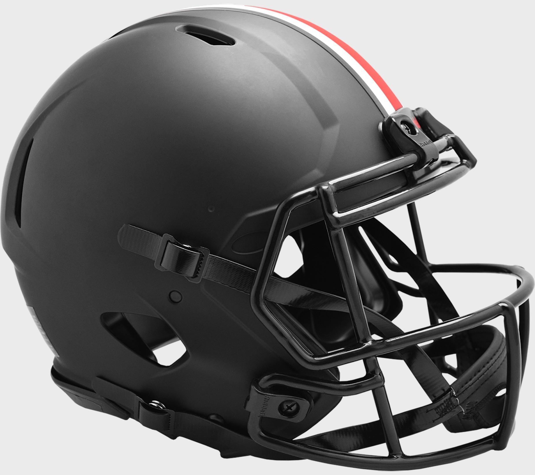 Ohio State Buckeyes Speed Football Helmet <B>ECLIPSE</B>