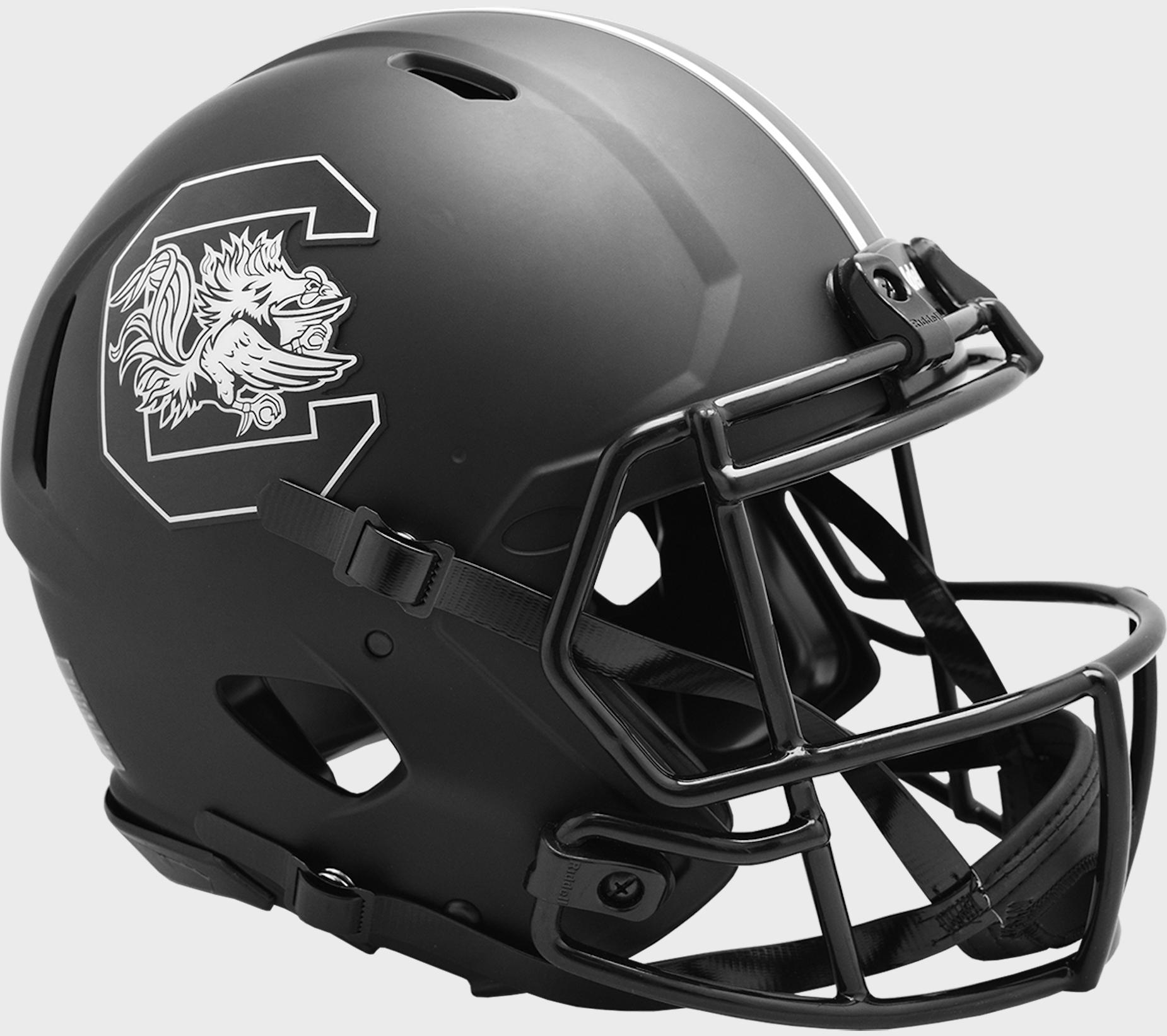 South Carolina Gamecocks Speed Football Helmet <B>ECLIPSE</B>