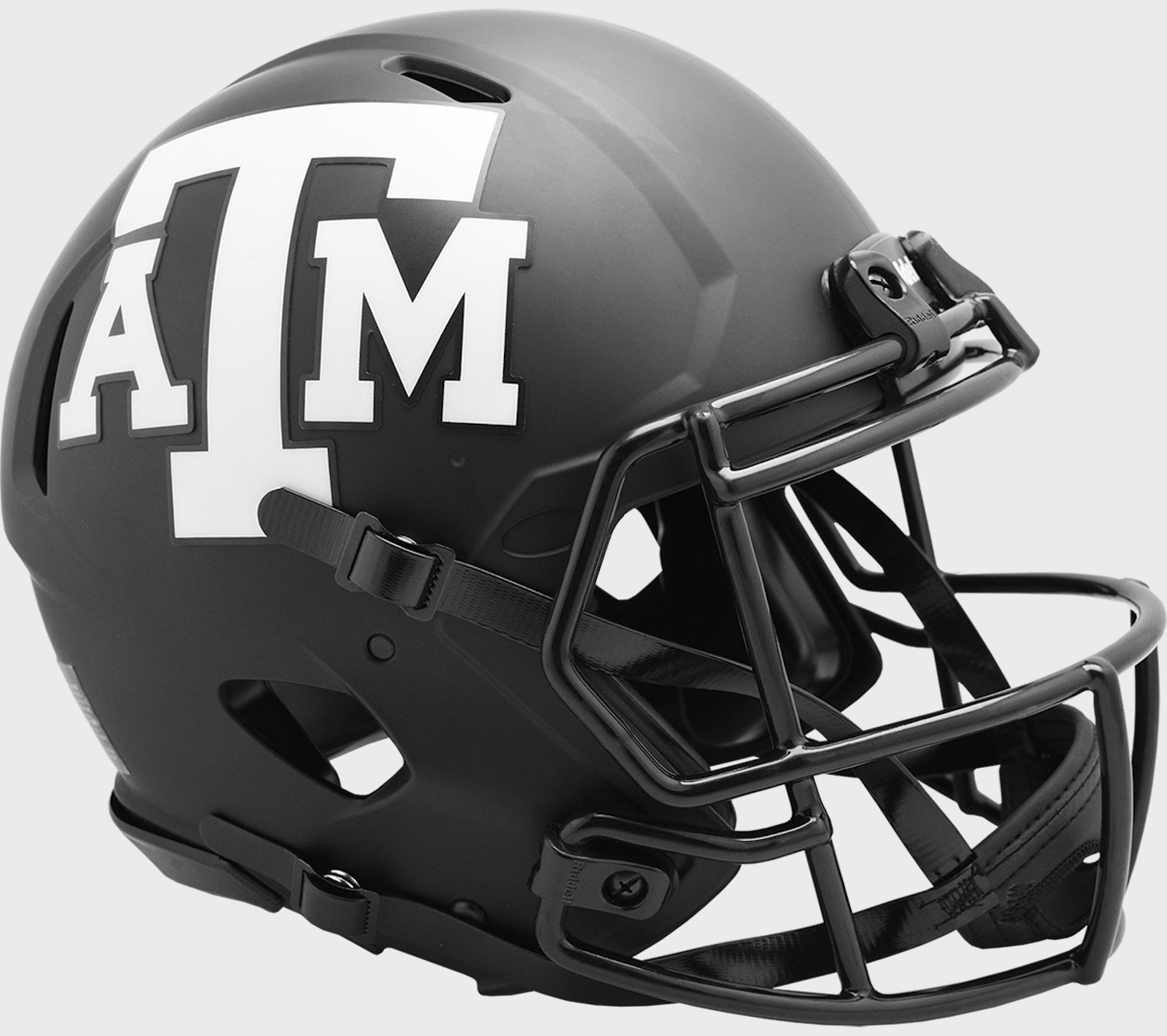 Texas A&M Aggies Speed Football Helmet <B>ECLIPSE</B>