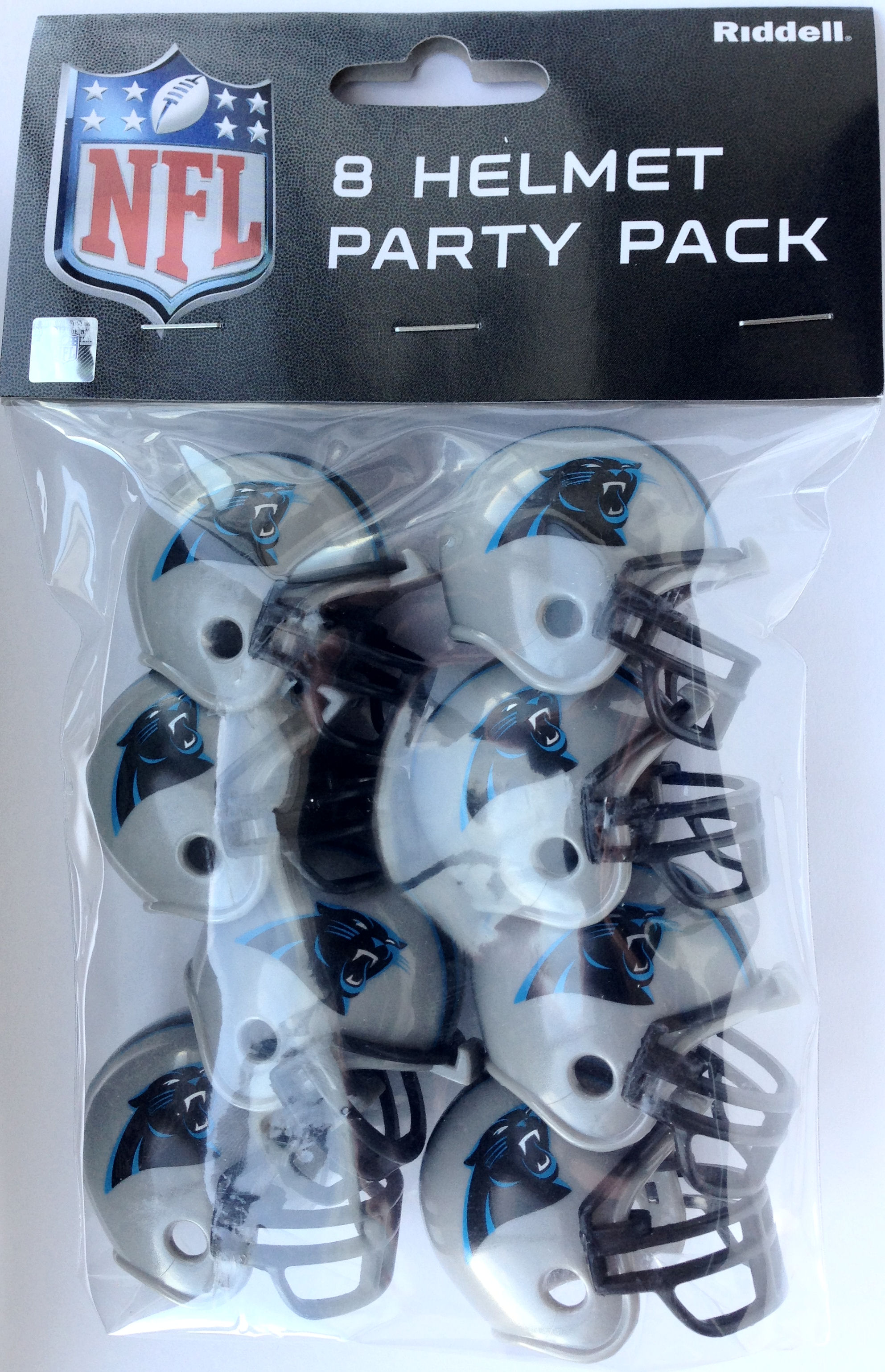 Carolina Panthers Gumball Party Pack Helmets