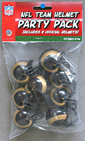 St. Louis Rams Gumball Party Pack Helmets SALE