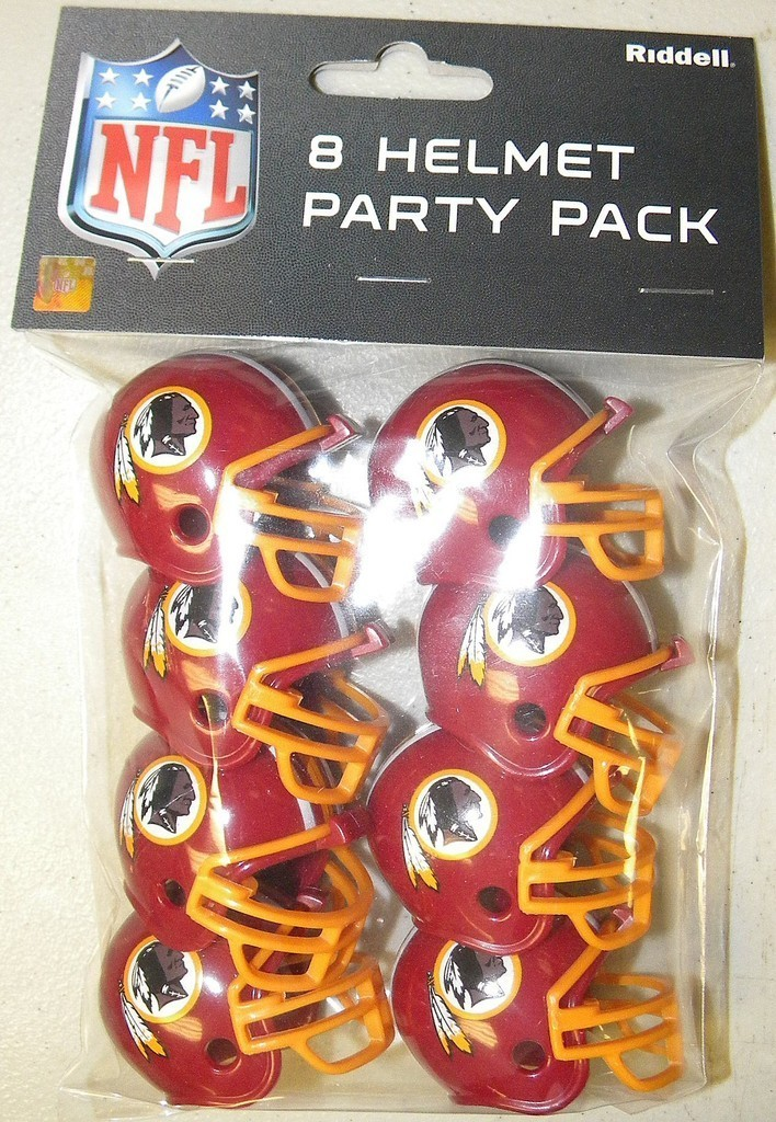 Washington Redskins Gumball Party Pack Helmets