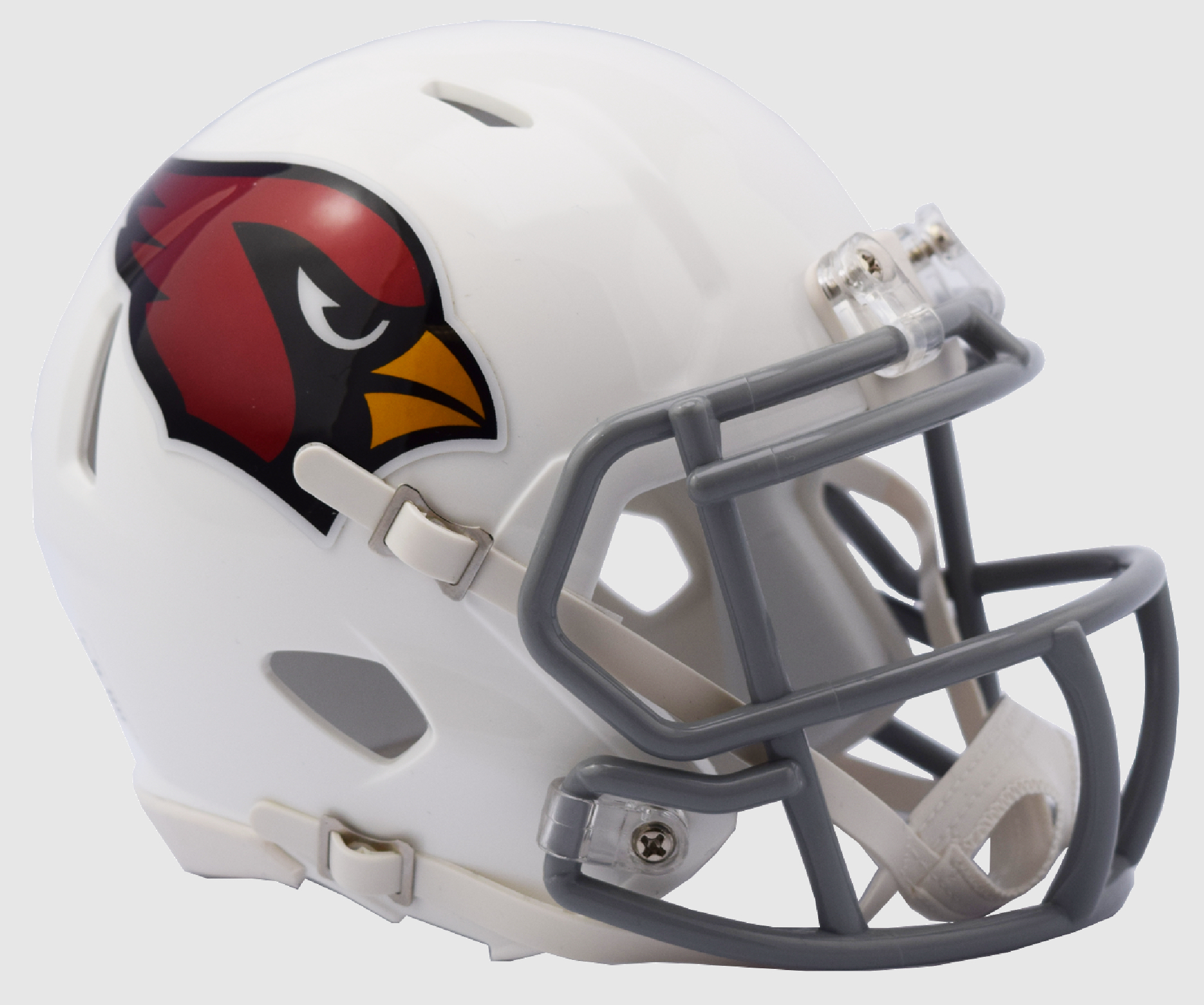 Arizona Cardinals NFL Mini Speed Football Helmet <B>2017 Color Rush Chrome Decal</B>