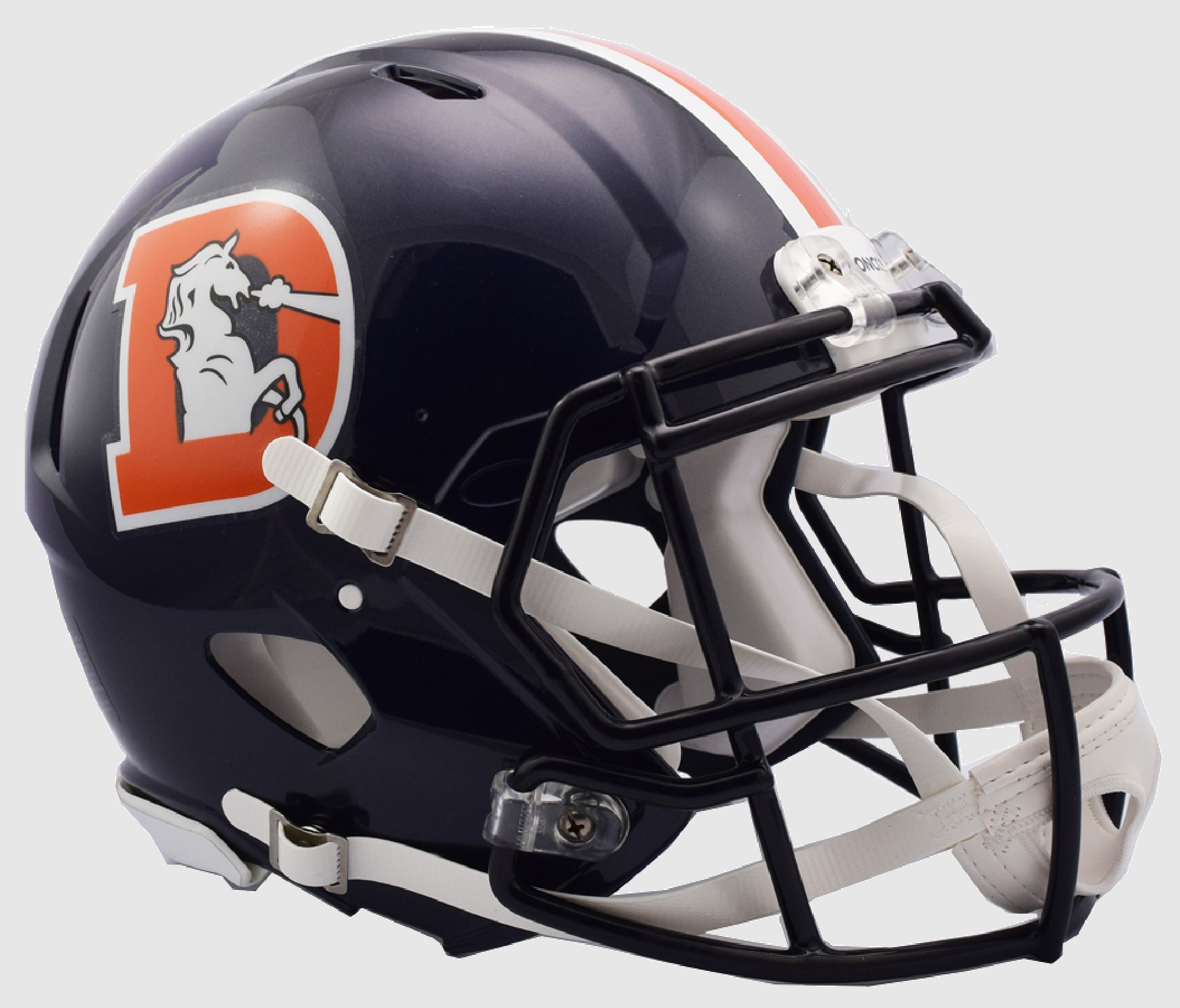 Denver Broncos Speed Football Helmet <B>2018 Color Rush </B>