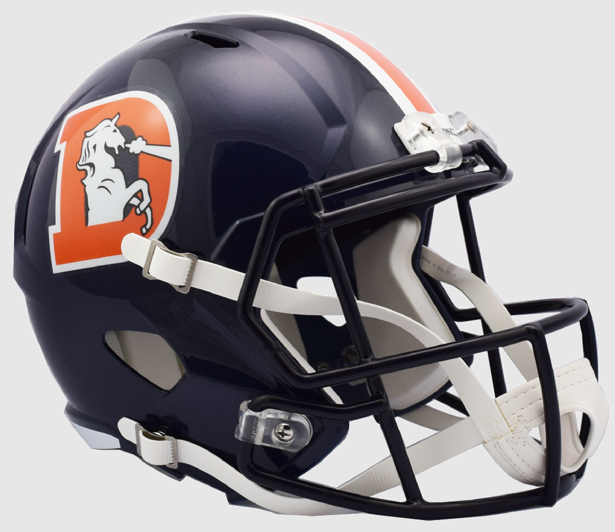 Denver Broncos Speed Replica Football Helmet <B>2018 Color Rush </B>