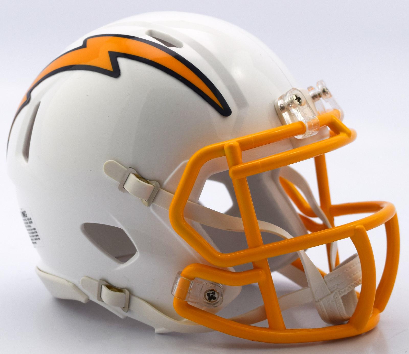 San Diego Chargers NFL Mini Speed Football Helmet <B>2018 Color Rush </B>