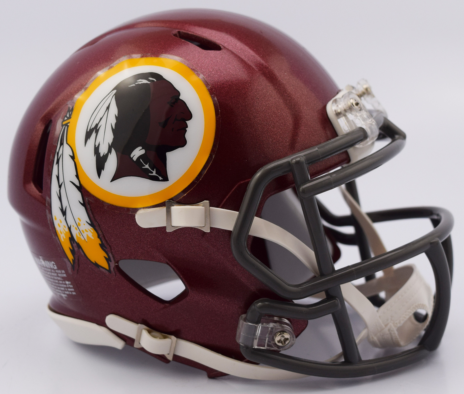 Washington Redskins NFL Mini Speed Football Helmet <B>2018 Tribute</B>