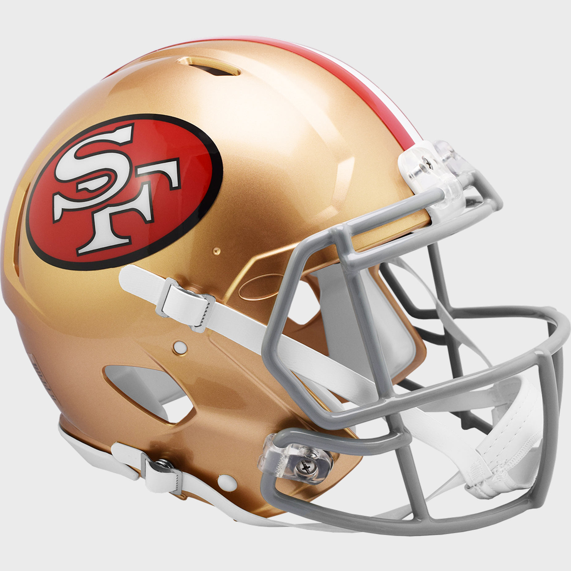 San Francisco 49ers 1964 to 1995 Speed Throwback Football Helmet