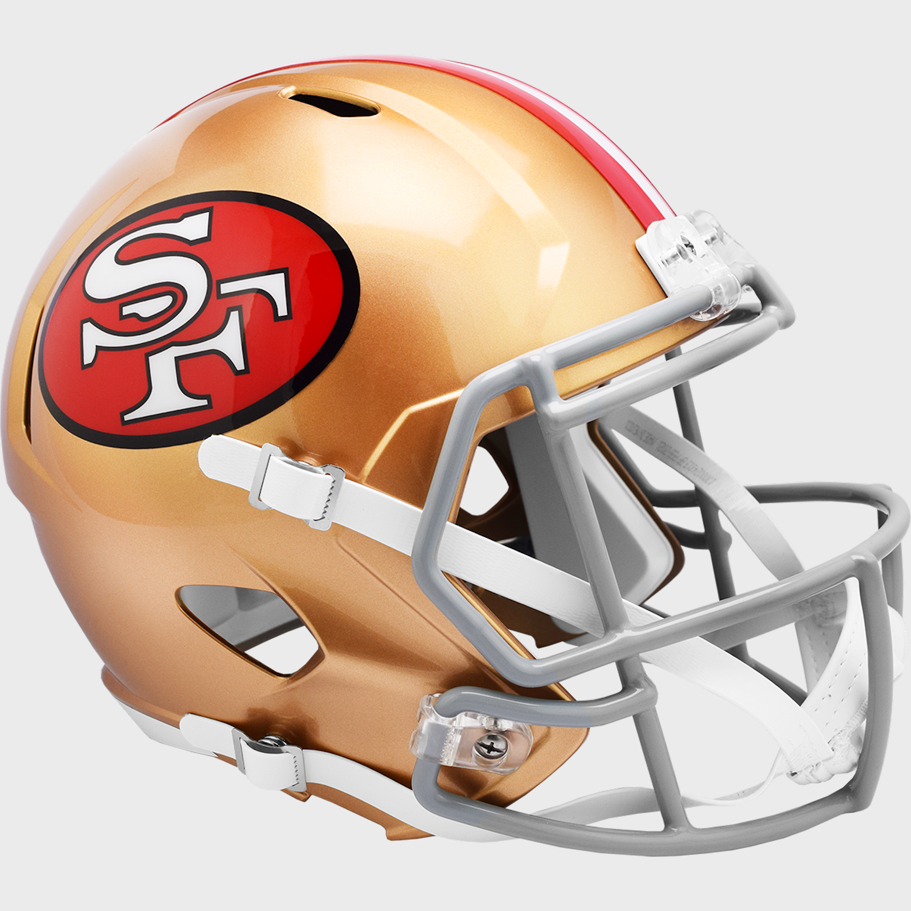 San Francisco 49ers 1964 to 1995 Speed Replica Throwback Helmet