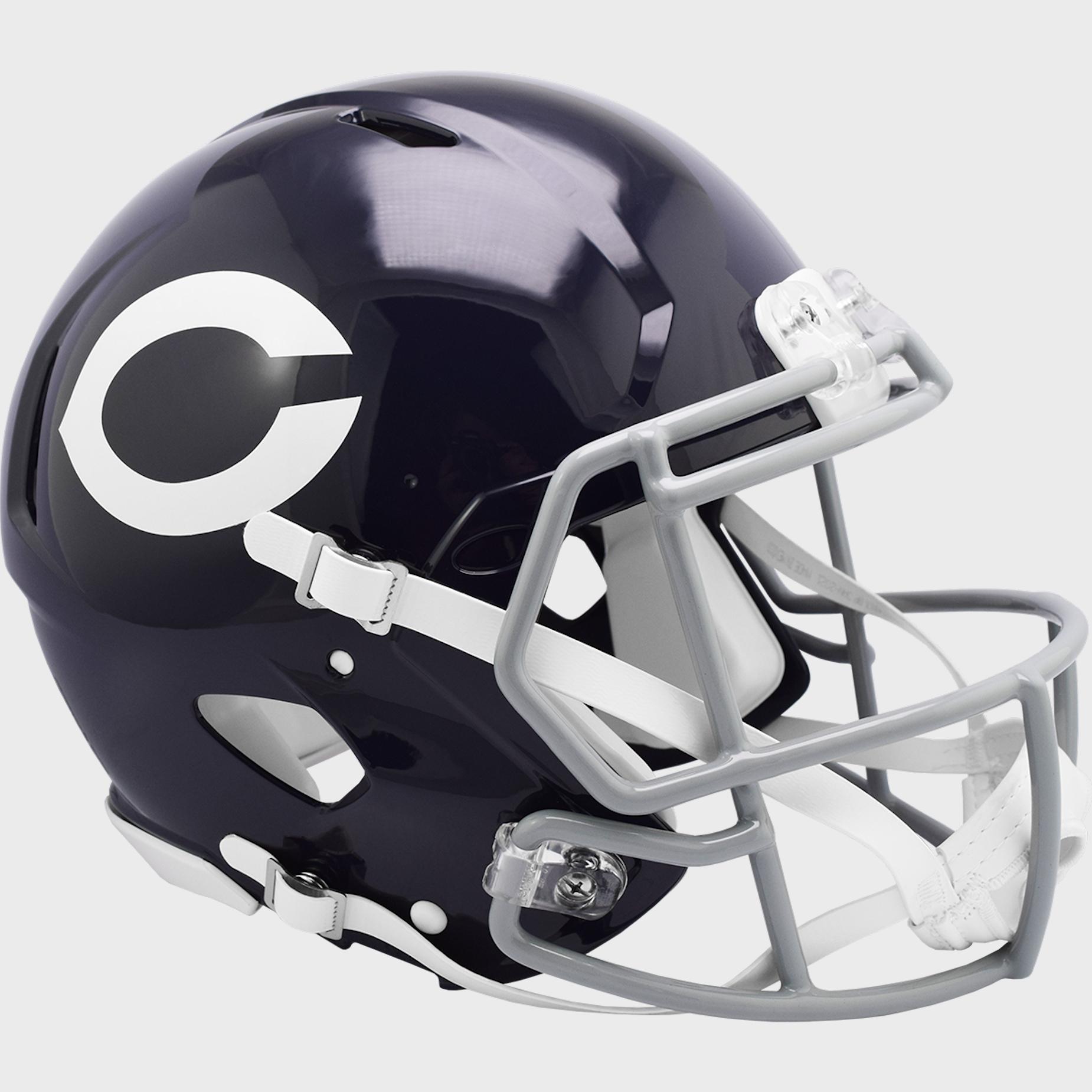 Chicago Bears 1962 to 1973 Speed Throwback Football Helmet
