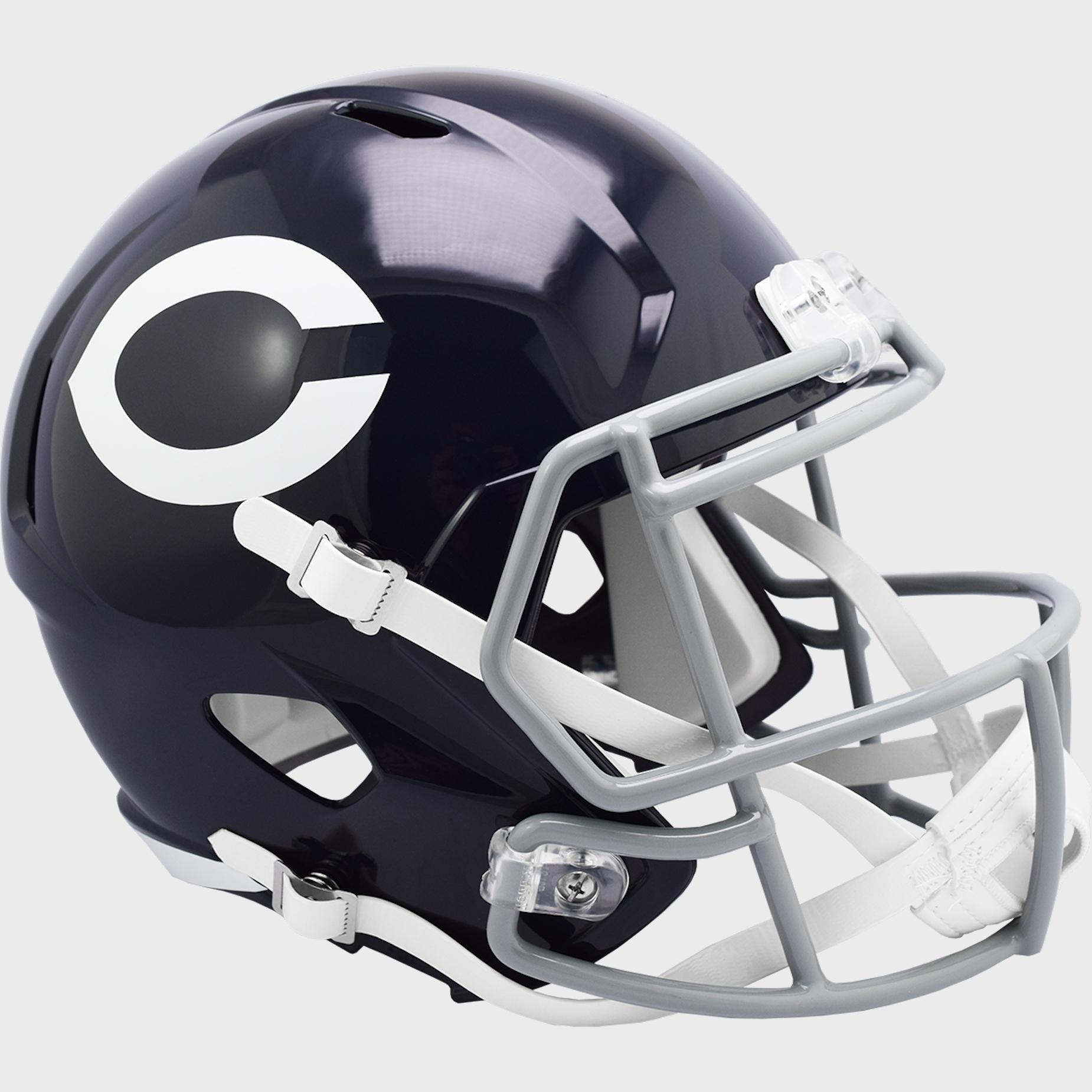 Chicago Bears 1962 to 1973 Speed Replica Throwback Helmet