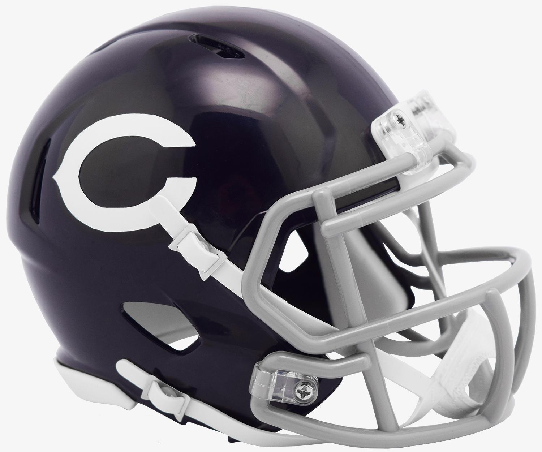 Chicago Bears NFL Mini Speed Football Helmet <B>60 Classic SALE!</B>