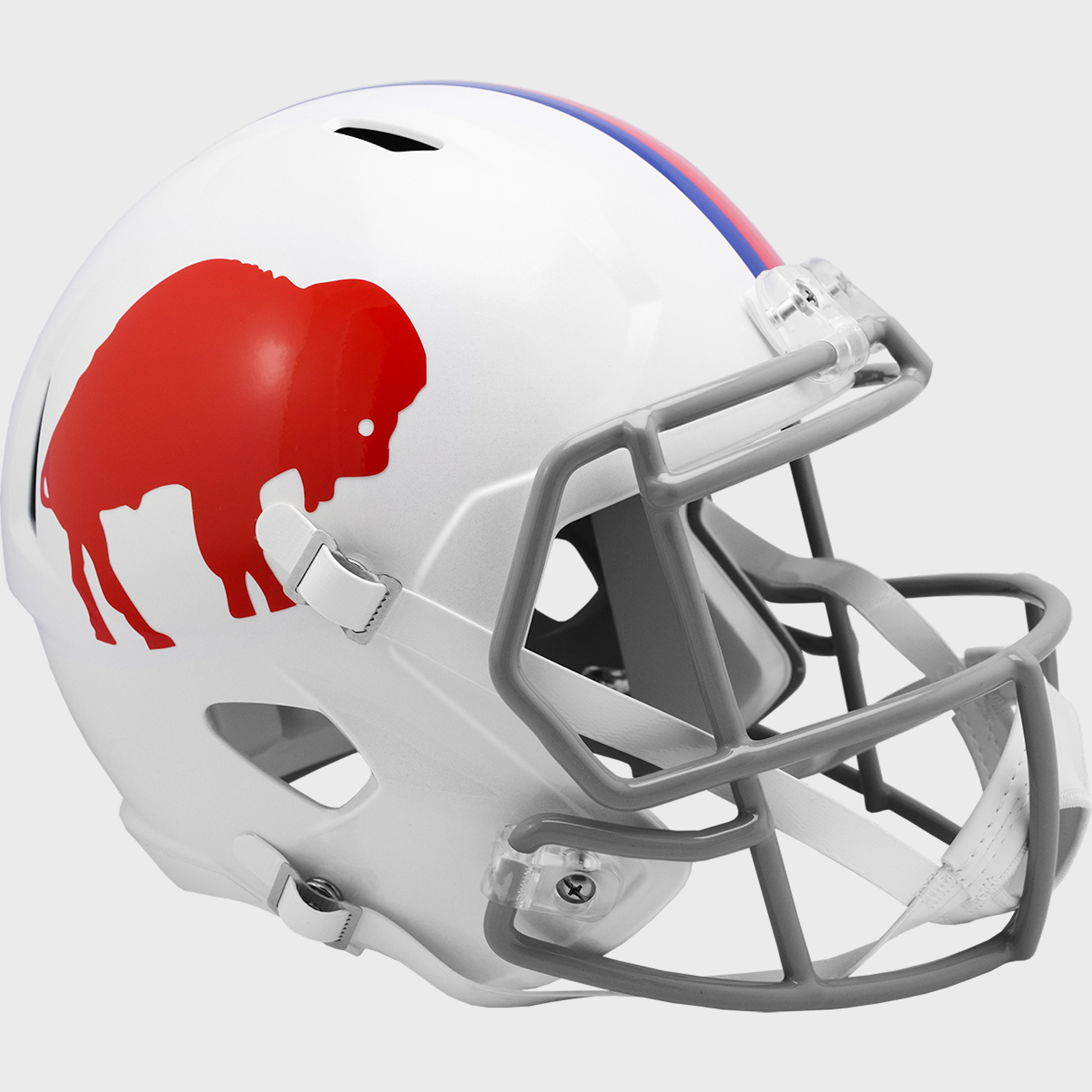 Buffalo Bills 1987 to 2001 Speed Replica Throwback Helmet