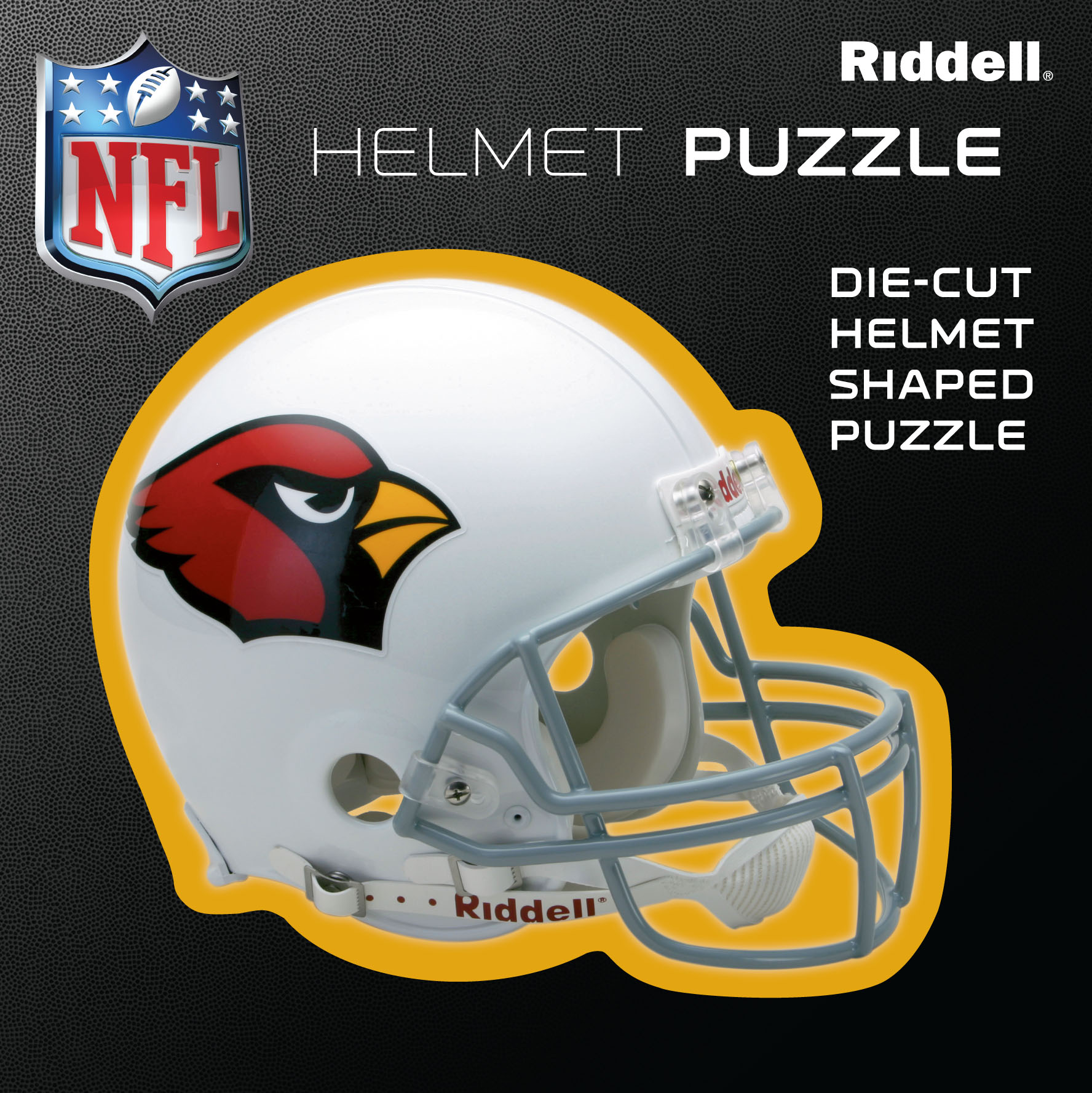 Arizona Cardinals Helmet Puzzle 100 Pieces Riddell