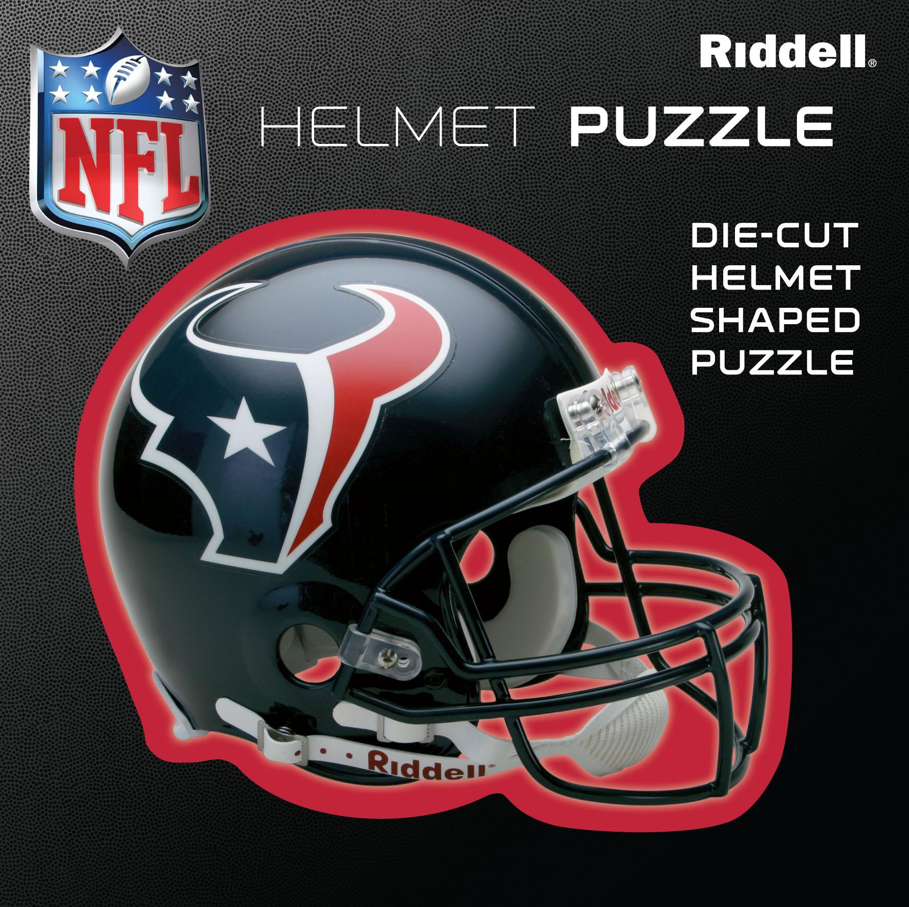 Houston Texans Helmet Puzzle 100 Pieces Riddell SALE