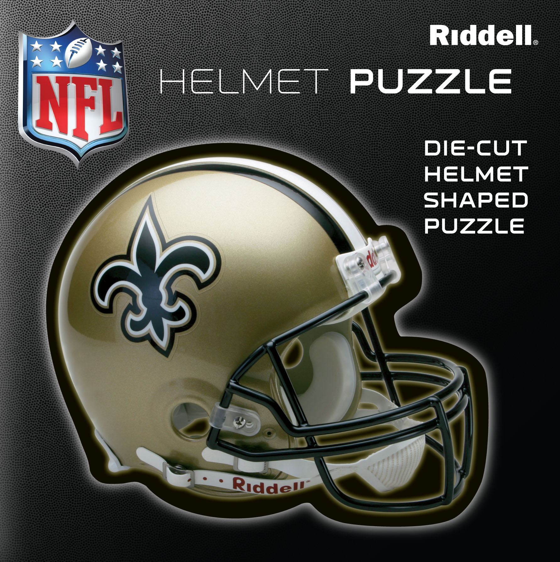 New Orleans Saints Helmet Puzzle 100 Pieces Riddell SALE