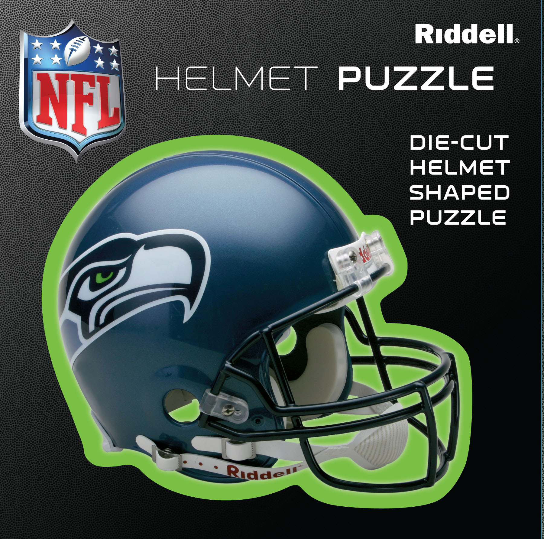 Seattle Seahawks Helmet Puzzle 100 Pieces Riddell