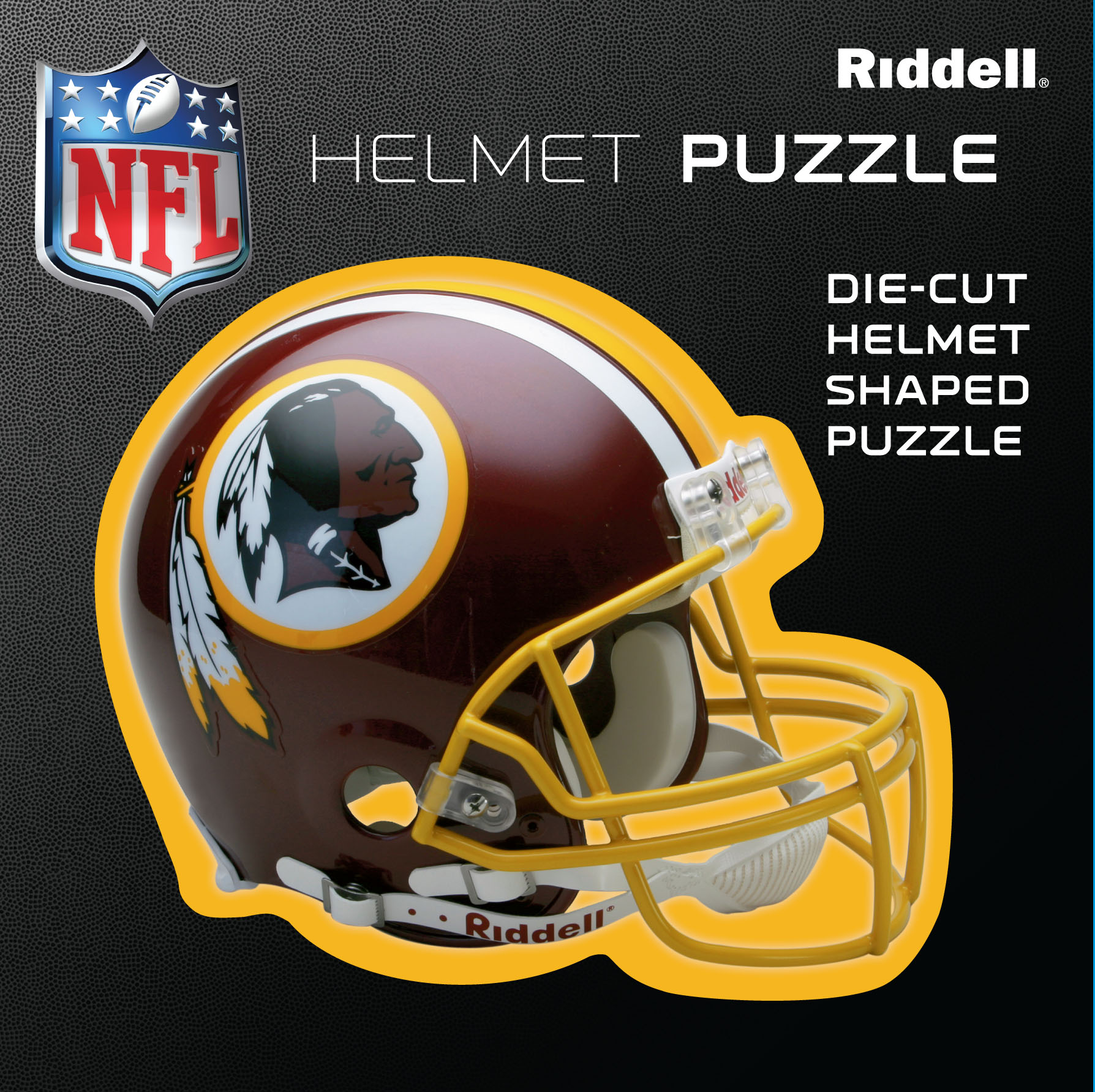 Washington Redskins Helmet Puzzle 100 Pieces Riddell