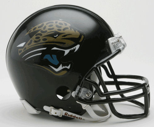 Jacksonville Jaguars 1995 to 2012 Mini Replica Throwback Helmet