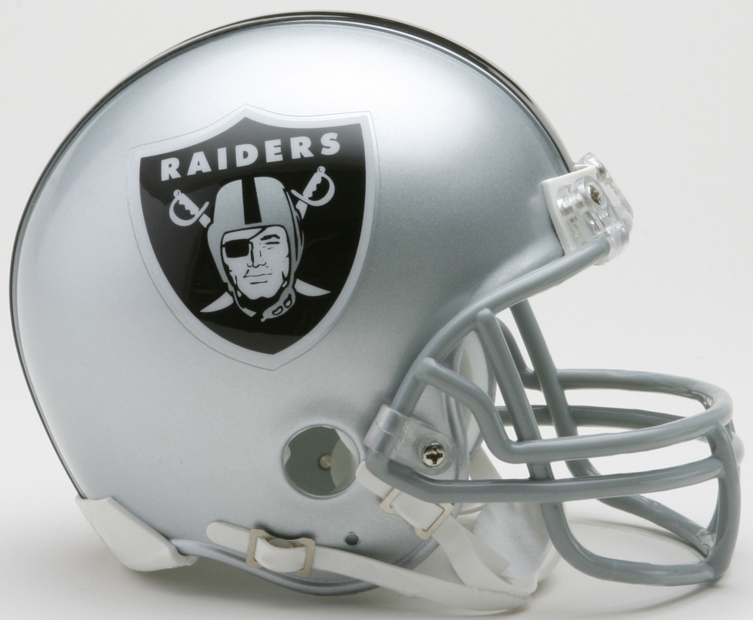 Oakland Raiders NFL Mini Football Helmet