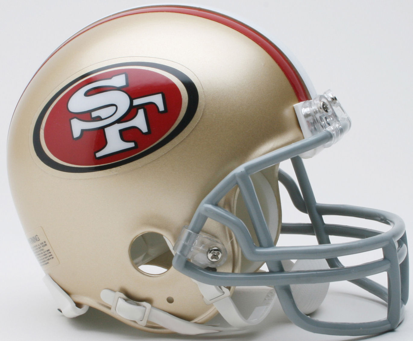 San Francisco 49ers NFL Mini Football Helmet