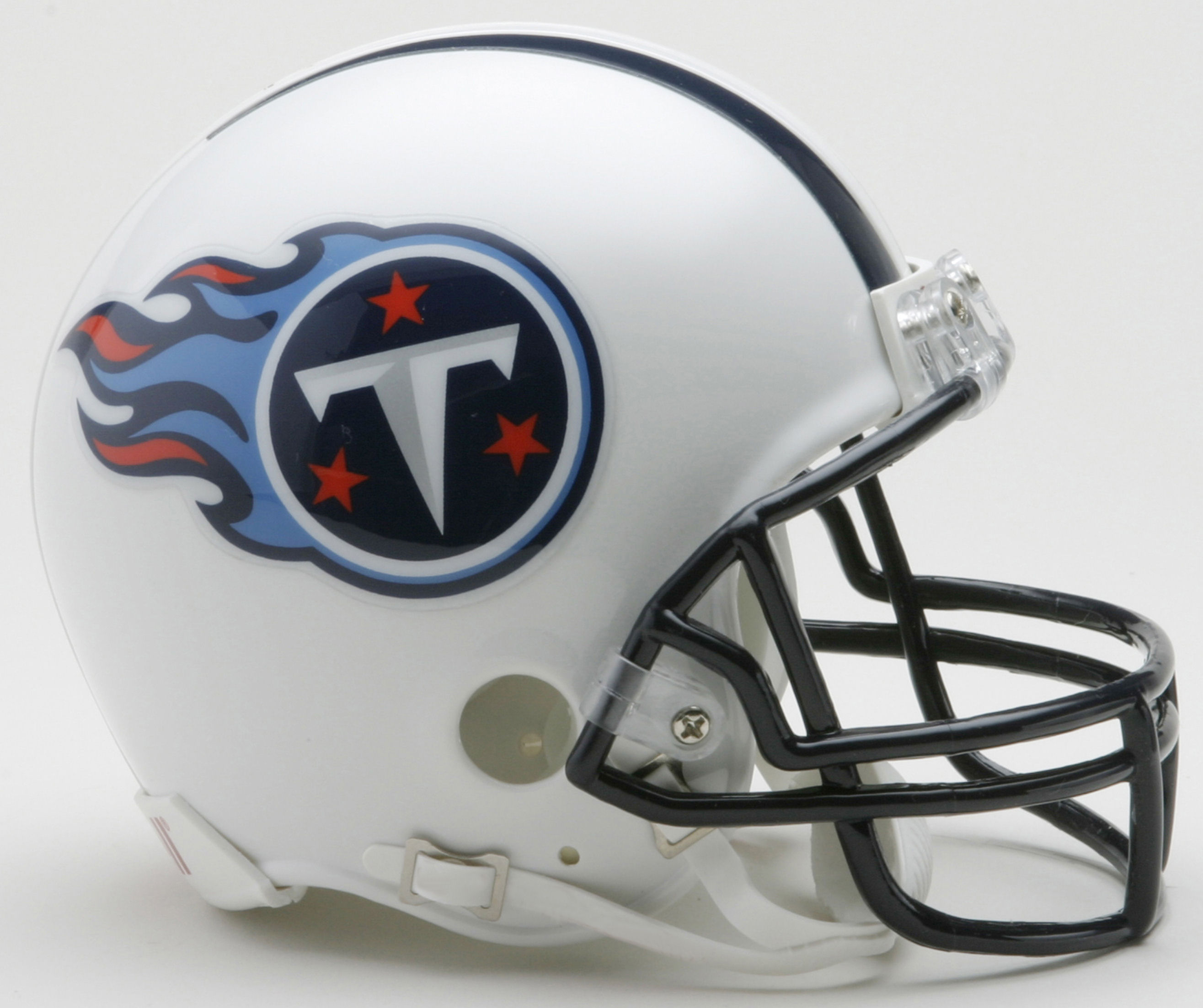 Tennessee Titans 1999 to 2017 Riddell Mini Replica Throwback Helmet