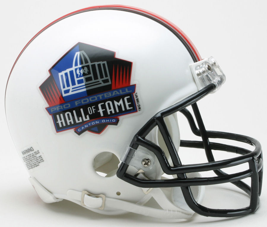 NFL Hall of Fame NFL Mini Football Helmet