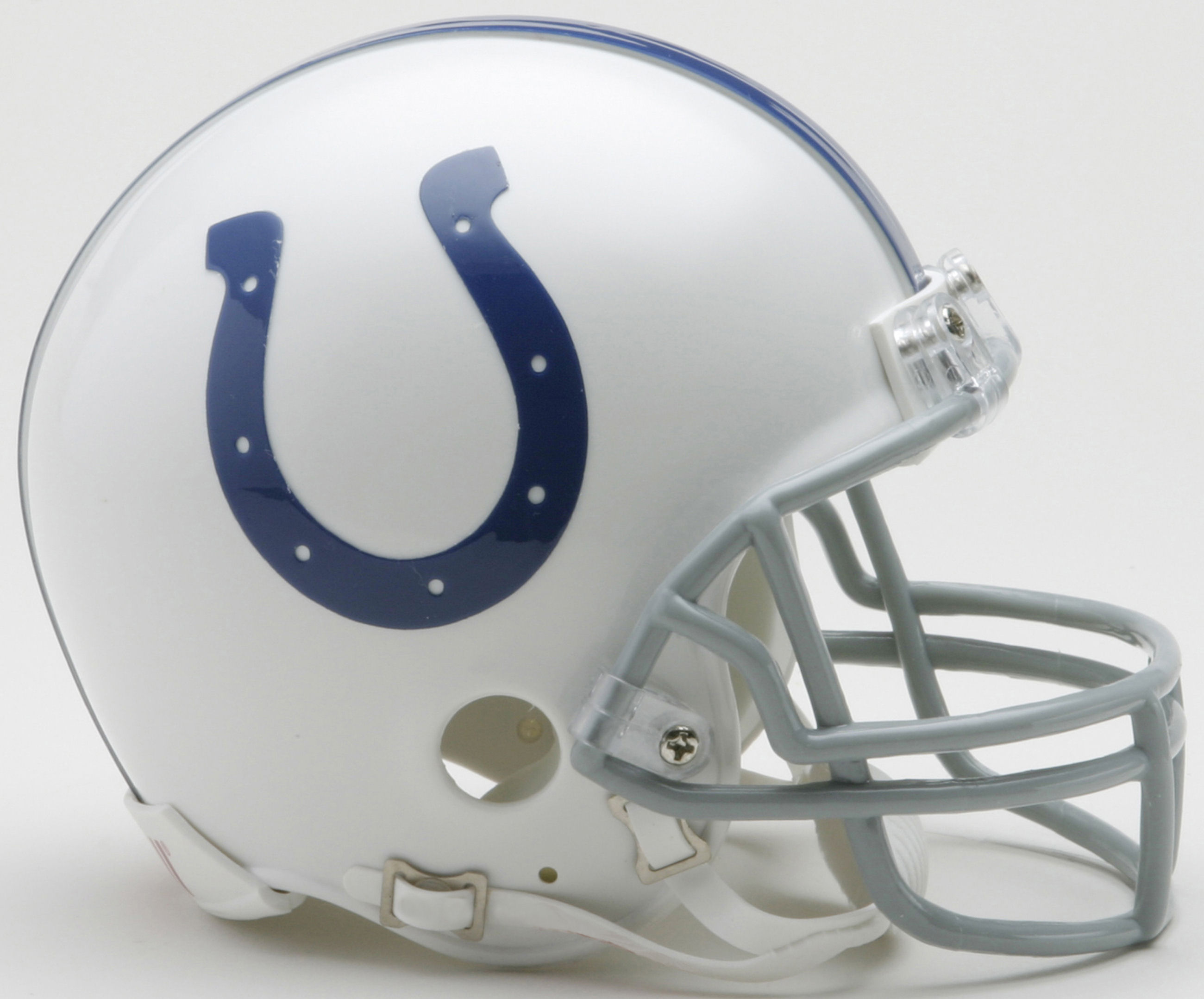 Indianapolis Colts 2004 to 2019 Riddell Mini Replica Throwback Helmet