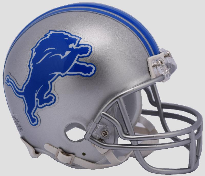 Detroit Lions NFL Mini Football Helmet <B>NEW 2017</B>