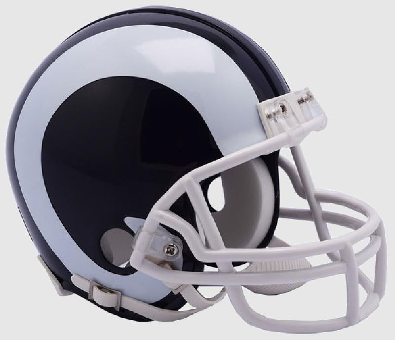 Los Angeles Rams NFL Mini Football Helmet <B>NEW 2017</B>