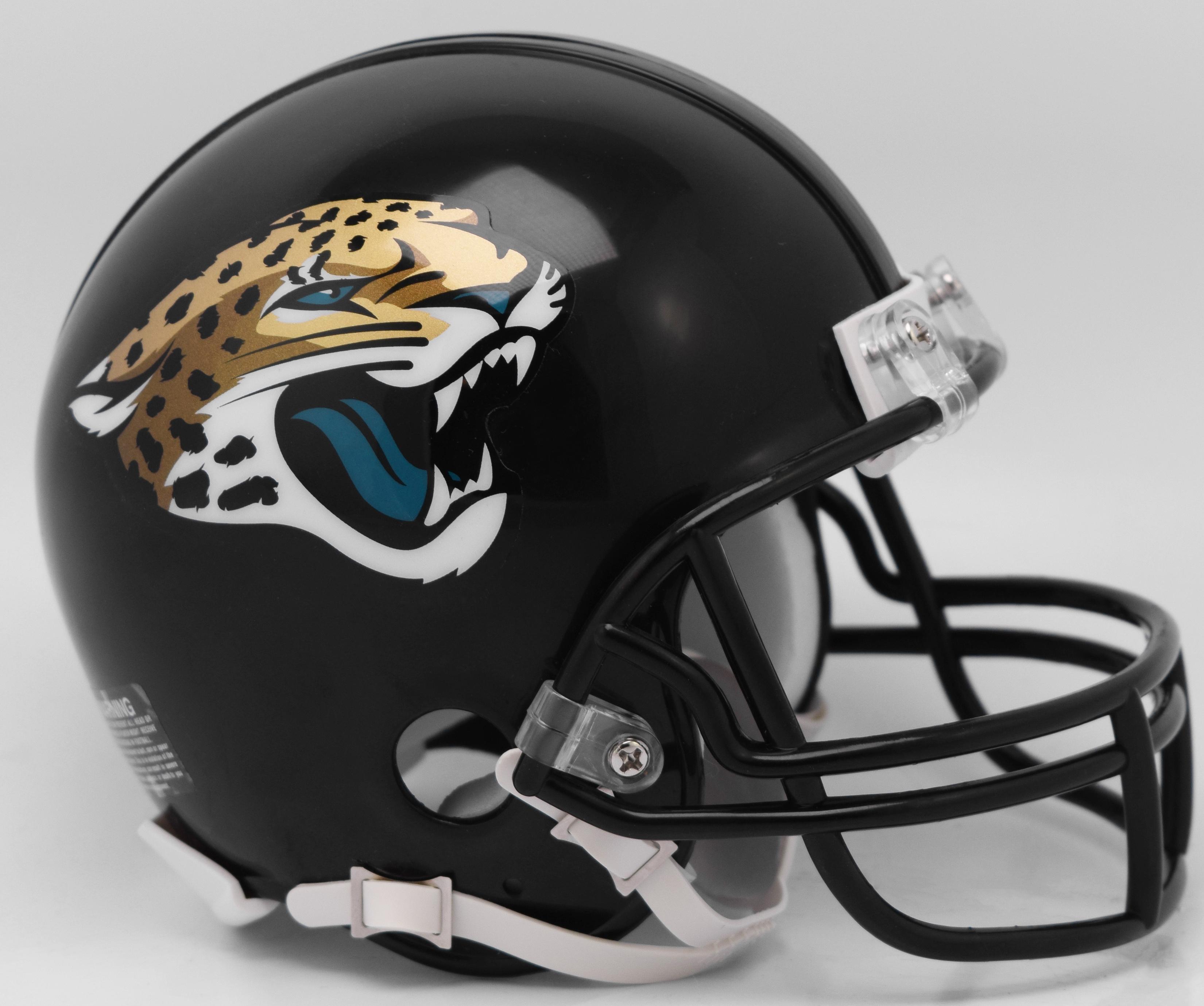 Jacksonville Jaguars NFL Mini Football Helmet <B>NEW 2018</B>
