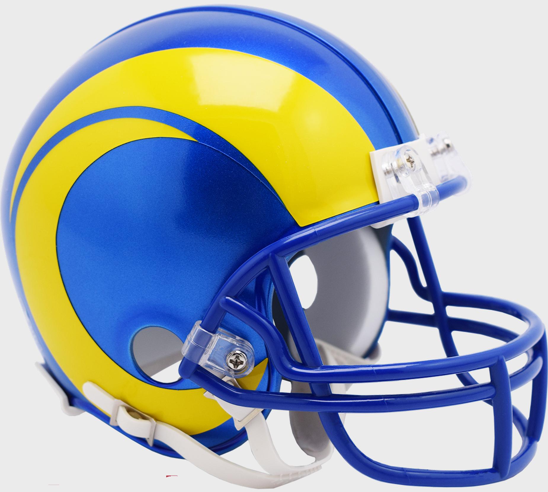 Los Angeles Rams NFL Mini Football Helmet