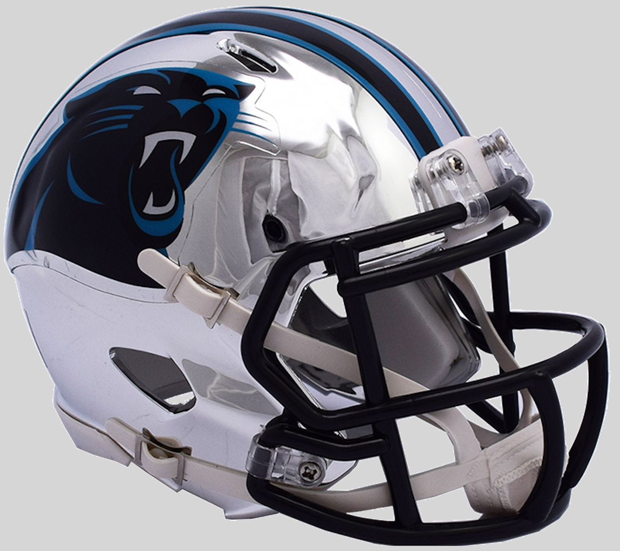 Carolina Panthers Speed Chrome Authentic Helmet <B>NEW 2018</B>
